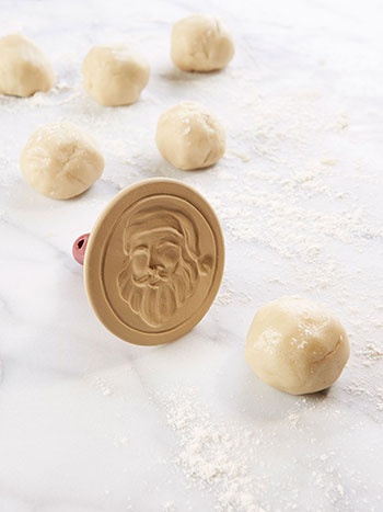 Santa Cookie Stamp
