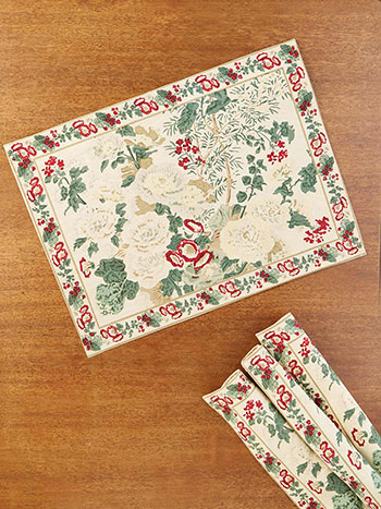 Olivia Antique Placemat Bundle