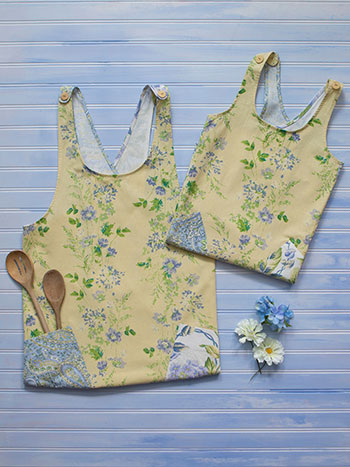 Provence Mommy and Me Aprons