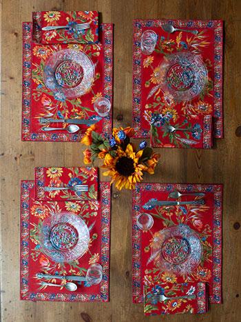 Wildflower Brick Placemat Bundle