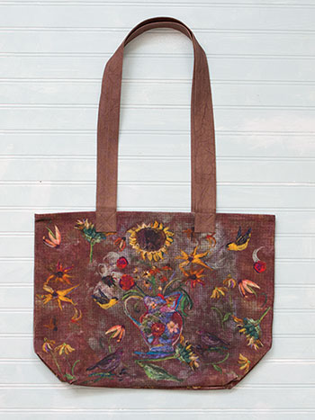 Autumn Visitors Market Bag