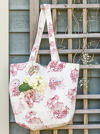 Backyard Rooster Market Bag