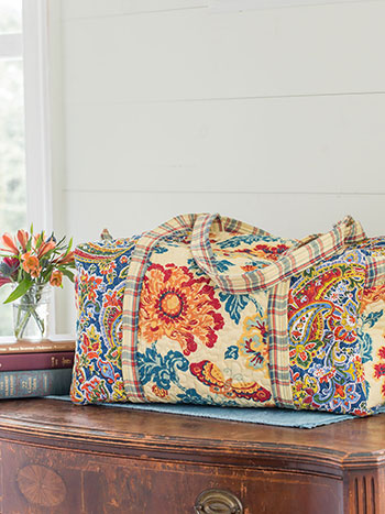 Kindred Patchwork Duffle Bag