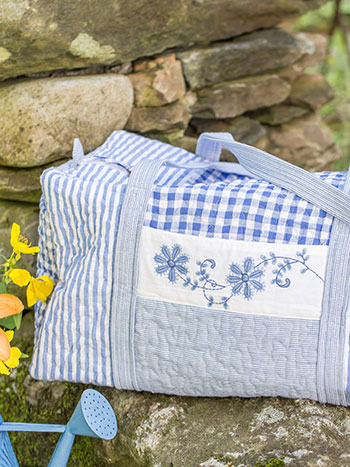 Picnic Patchwork Duffle Bag