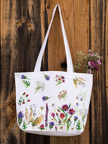Field Flower Market Bag