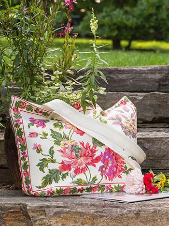 Greta's Garden Market Bag