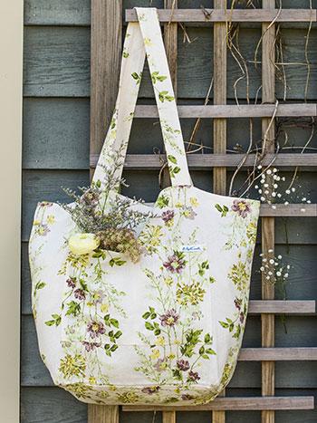 Prairie Hopsack Market Bag