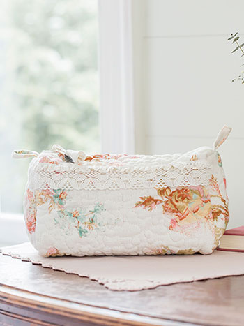 Victorian Rose LG Cosmetic Bag