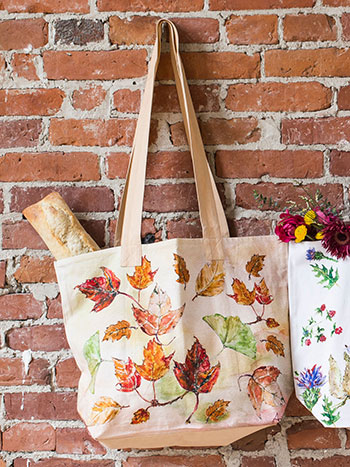 Autumn Leaves Market bag