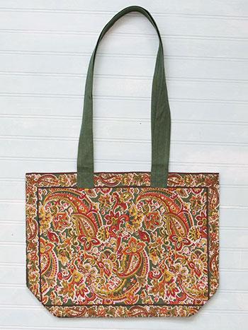 Priscilla's Paisley Market Bag