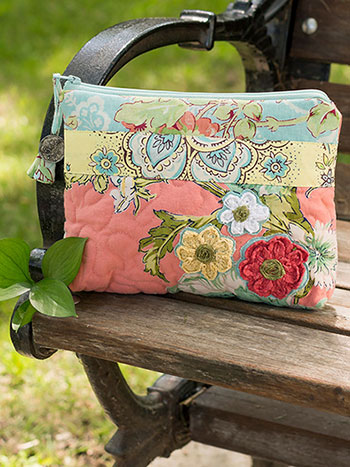Garden Patchwork Small Cosmetic Bag