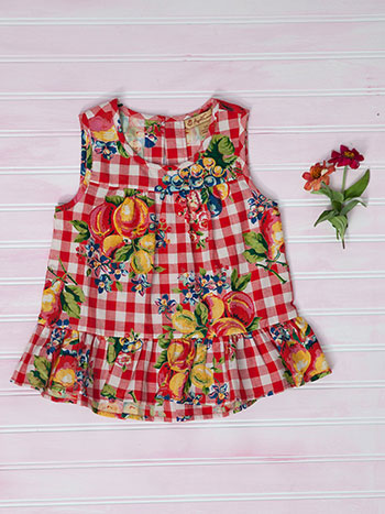 Fruit Basket Girls Blouse