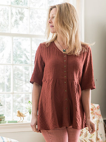 Autumn Sunset Blouse
