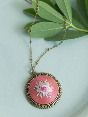 Moira's Flower Necklace