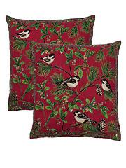 Chickadee Cushion Cover