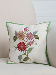Delilah Emb Cushion