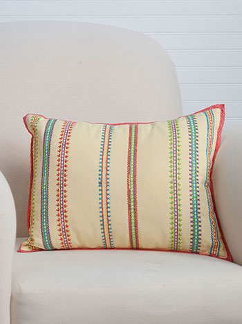 Dixie Emb Cushion