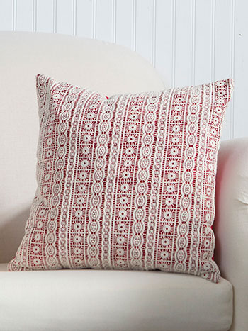 Lillian's Lace Cushion
