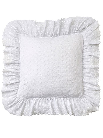 Evie Eyelet Cushion Cover