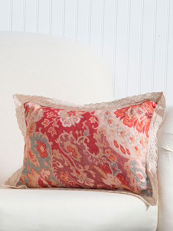 Magic Carpet Linen Cushion