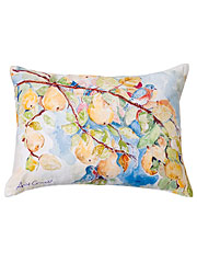 Pears Watercolor Cushion