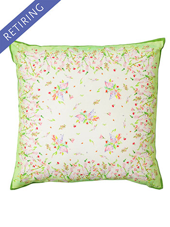 Snapdragon Watercolor Cushion Cover
