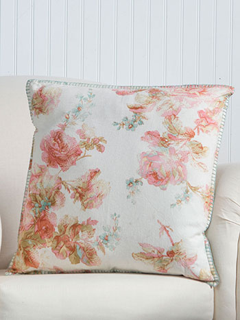 Victorian Rose Cushion Cover
