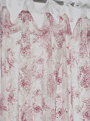 Anglaise Net Curtain - Rose