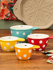 Polka Dot Measuring Cups