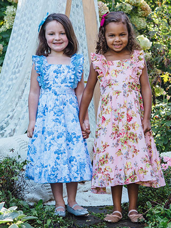 Greta Girls Dress