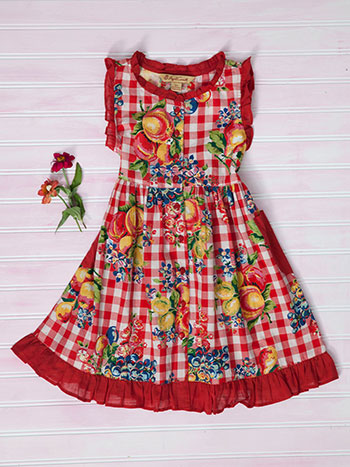 Fruit Basket Girls Dress