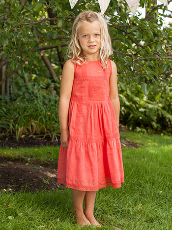 Sunset Girls Dress