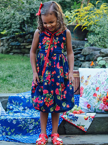 Strawberry Girls Dress