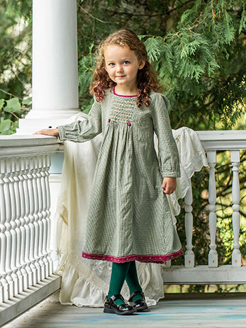 Olive Girls Dress