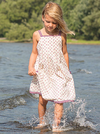 Avignon Girls Sundress