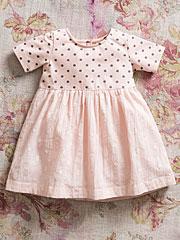 Dotty Girls Dress