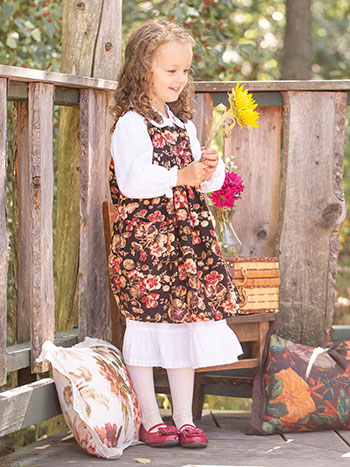Nasturtium Girls Dress
