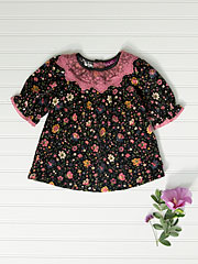 Sarah Lace Girls Dress