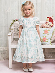 Sea Rose Girls Dress