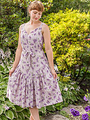 Lilac Ladies Dress