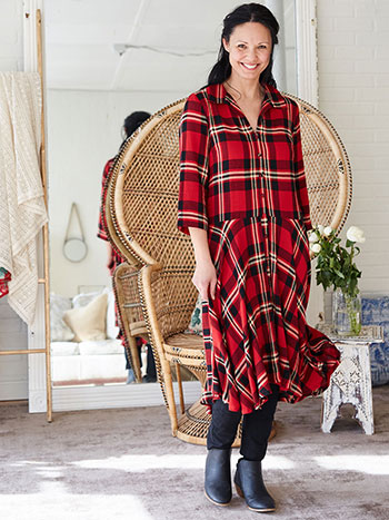 Robin Plaid Dress