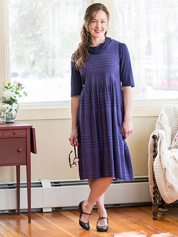 French Stripe Dress