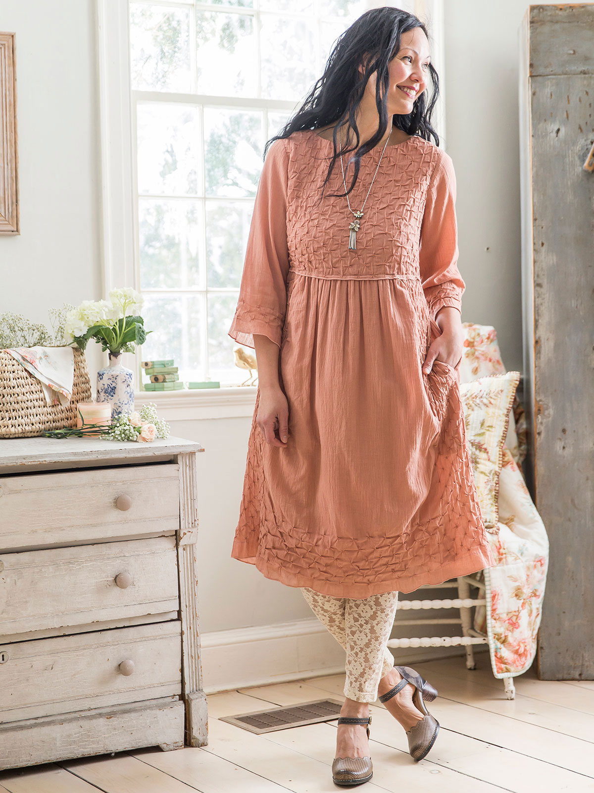 Woodland Rose Dress