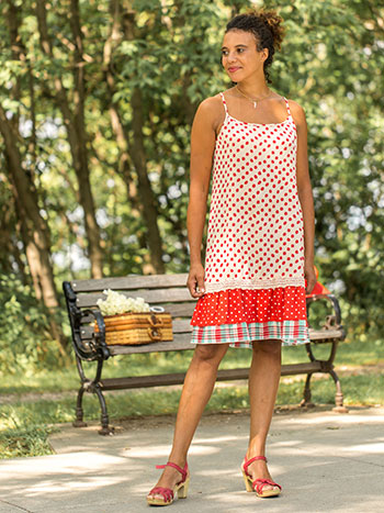 Nellie Dot Sundress