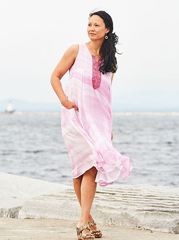 Pink Sky Dress