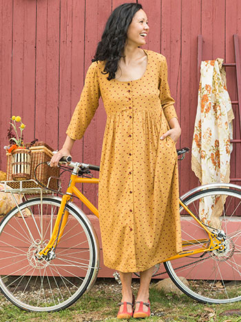 Honey Flower Longsleeve Dress