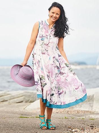 Artist Magnolia Dress