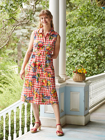 Fruit Basket Porch Dress