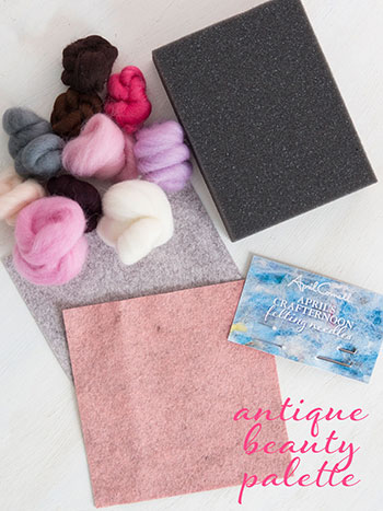 Antique Beauty Felting Kit