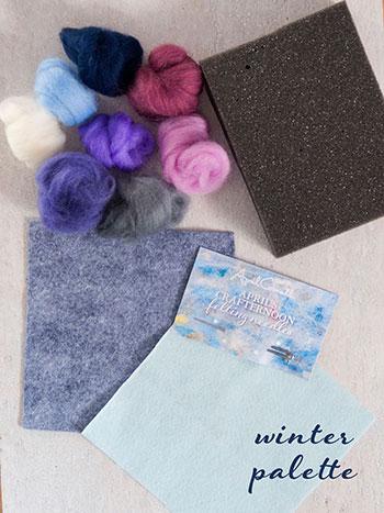 Winter Felting Kit